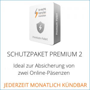 Abmahnsichere AGB für wpShopGermany und Ebay-Kleinanzeigen mit dem Schutzpaket Premium 2