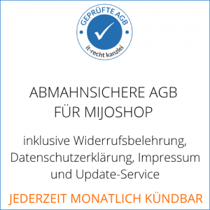 AGB Schutzpaket Mijoshop