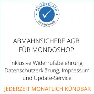 AGB-Service für Mondoshop mit kurzer Vertragslaufzeit