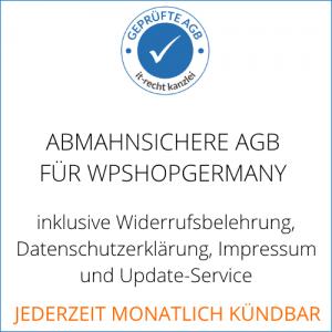 AGB Flatrate für wpShopGermany